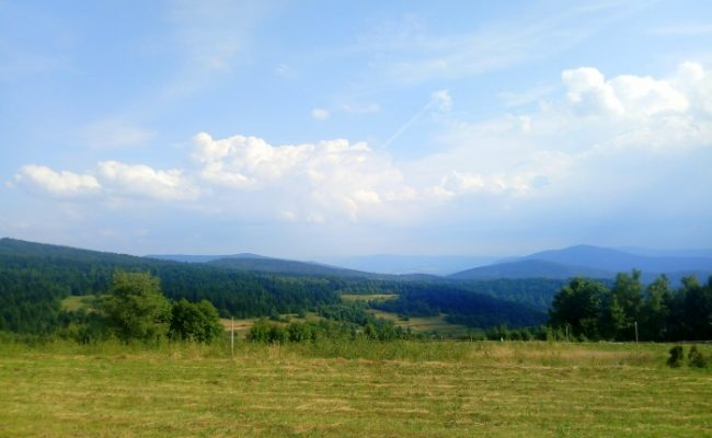 Kudłacze - Łysina - Lubomir czerwonym szlakiem