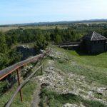 Gród Birów - Podzamcze