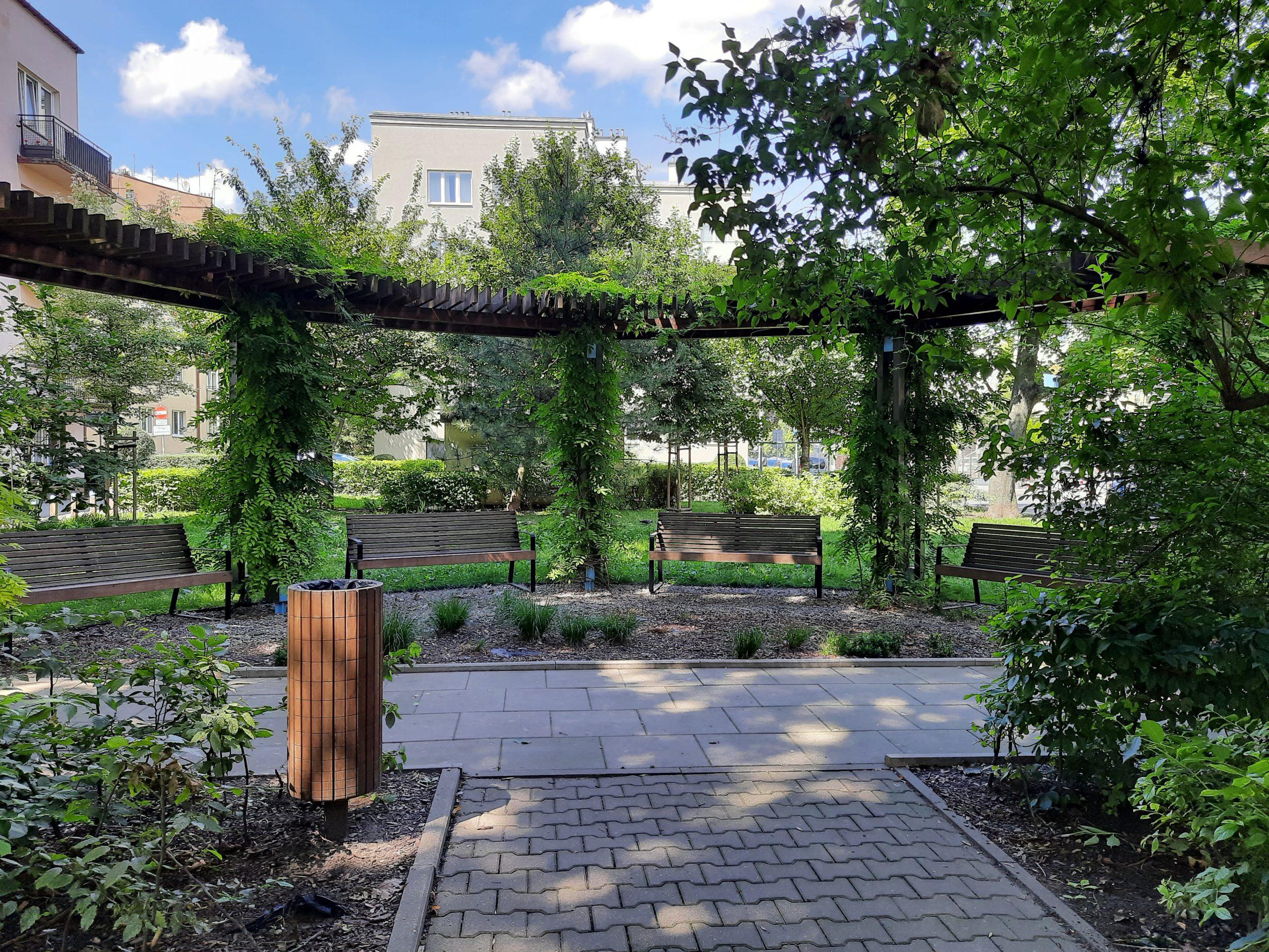 Artystyczny Ogród Krakowian, ul. Fałata