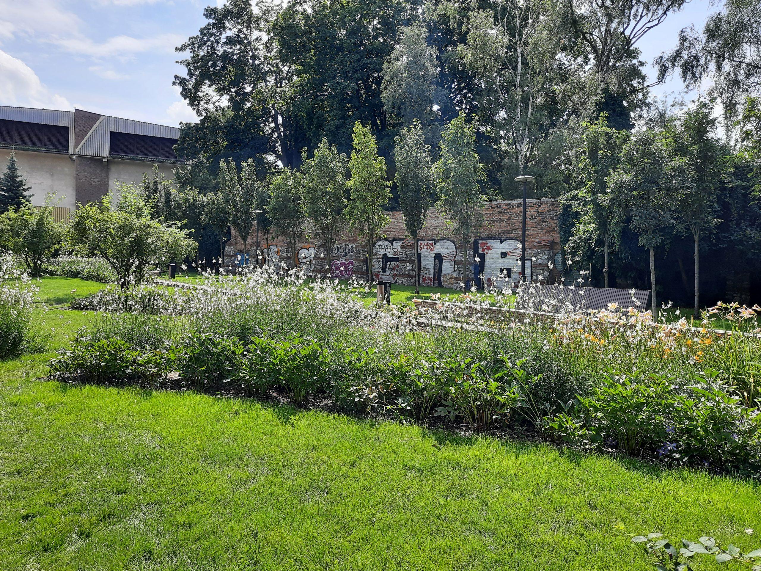 Kwietny Ogród Krakowian, ul. Łobzowska